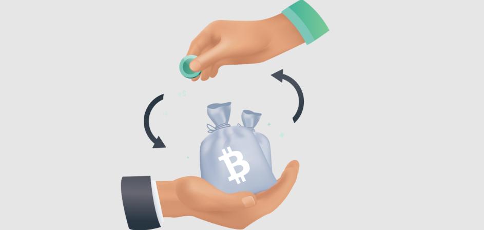 Get crypto borrowing