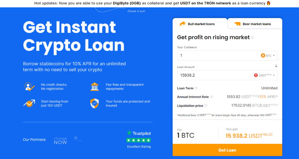What is a Bitcoin loan?