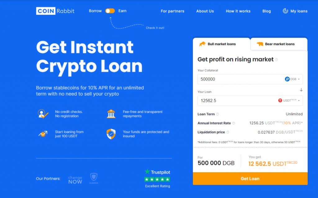 Get DGB loan