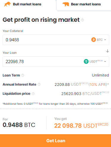 How to raise money by lending Bitcoin?